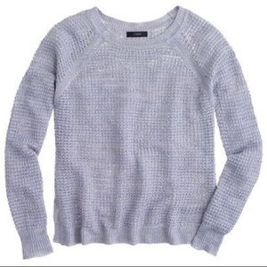 J. Crew Waffle Beach Sweater S